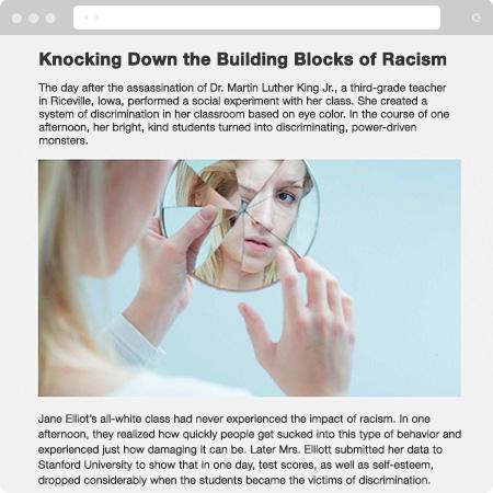 Jane Elliot featured in Understanding Racism Online Course